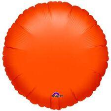 metallica arancione Cerchio standard PALLONCINI stagnola MATRIMONIO COMPLEANNO