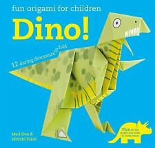 Easy Origami for Kids - Dino! : 12 Daring Dinosaurs to Fold! by Mari Ono and...