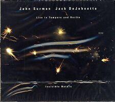 John Surman Jack DeJohnette Livein Tampere and Berlin CD NEW