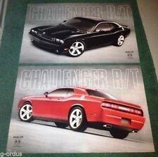NEW 2009-2013 BLACK OR RED DODGE CHALLENGER RT R/T HEMI 2FT X 3FT POSTER!
