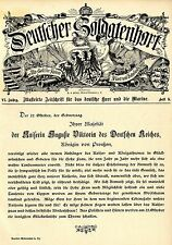 Kaiserin Auguste Viktoria Königin von Preussen Historical Memorabilia 1895