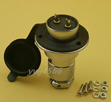 Aviation Plug GX25 2Pin Gold-Plated Flange Socket Openings 25mm Good Quality