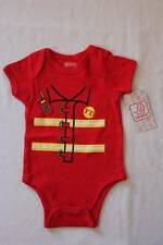 NEW Baby Boys Bodysuit 6 - 9 Months Fireman Fire Fighter Costume Creeper Outfit
