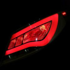 Smoke Type LED Tail Lights Rear Lamp For Hyundai Accent Solaris 2011~2015
