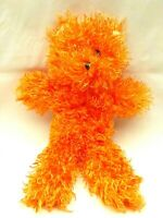 Circus Circus Las Vegas Reno Orange Teddy Bear Bow Soft Plush Stuffed Toy