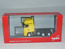 Herpa 305167-003 Mercedes-Benz Actros 6x4 GigaSpace Tractor-Yellow 1:87 N....