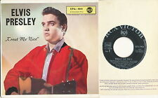 "ELVIS PRESLEY EP deutsche RCA Victor EPA-9541 ""Treat Me Nice"" V2"