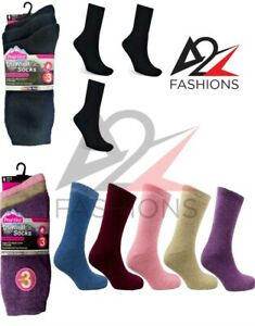 12 Pairs Womens Ladies Soft Comfort Outdoor Boot Thermal Winter Thick Warm Socks