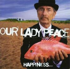 OUR LADY PEACE - Happiness Is Not A Fish You Can Catch (CD 1999) USA Import EXC