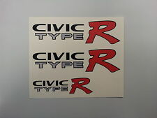 Honda Civic Type R EK9 Autocollant Voiture Stickers (set)