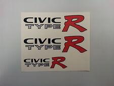 Honda Civic Type R EK9 car sticker decals (set)