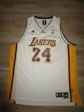 Kobe Bryant #24 LA Lakers NBA Adidas White Jersey Mens XXL 2XL