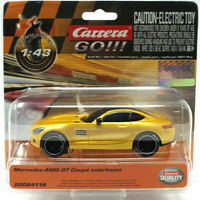 Carrera Go!!! 64119 Mercedes-AMG GT Coupé Solarbeam 1/43 Slot Car