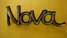 NEW NOS 73-74 Chevrolet Chevy Nova Left Side Fender Emblem Symbol Logo 327565