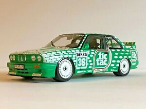 1:18 Minichamps BMW Dealer Edition E30 M3 1992 DTM Tic Tac #36