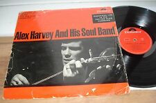 Alex Harvey and His Soul Band 1ST PRESS! DECENT AUDIO POLYDOR 46 424 GERMANY  LP
