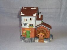 Department 56 Stoder Grist Mill 5953-6 W/ Sleeve Heritage Alpine Village Retired