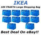 **SALE** 10pc IKEA FRAKTA Large Reusable Eco Shopping Laundry Tote Travel Bags
