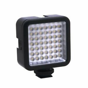 Mini LED Video Vlog Fill Light Dimmable Lamp Panel for DSLR Camera Camcorder