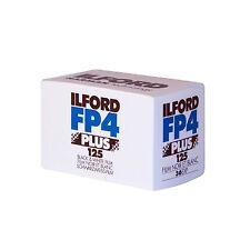 3 x Ilford FP4 Plus 125 ISO 35mm Negro y Blanco 36 Exp Ilford Photo Fresco Stock