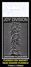 JOY DIVISION UNKNOW PLEASURES FLEXIBLE BIG MAGNET IMAN GRANDE 0170