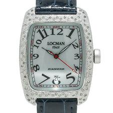 LOCMAN Italy Tonneau 488 Mujer Cuarzo Reloj de diamantes de fábrica de aluminio con 32mm