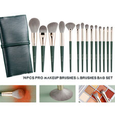 Makeup Brush Professional Set Face Eye Cosmetic Tools Wood Handles 0.05mm Hairs