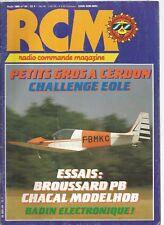 RCM N°64 SPAD XIV / BROUSSARD PB / CERDON 86 / CHACAL MODELHOB / BADIN ELECT.