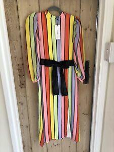 Olivia Rubin Dress Size 6 XS Silk Maxi Long