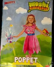 Smiffys Girls Moshi Monsters Poppet Fancy Princess Dress Party Clothes 5-7 Yrs