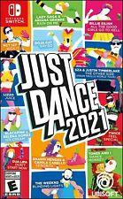 Just Dance 2021 - Nintendo Switch Game Brand New Sealed