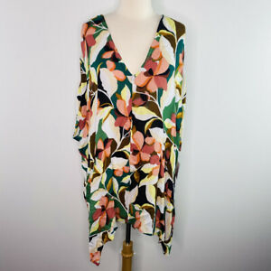 O'Neill Floral Tessa Swim Cover Up Size XS/S