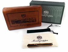 Montegrappa Reminiscence Etched 925 Vermeil Rollerball-RARE