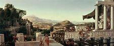 PAINTING LANDSCAPE HISTORIC AHLBORN VIEW HEYDAY GREECE LARGE ART PRINT LF963