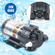 Reverse Osmosis 400G Booster Pump Marine Fish Tank Aquarium RO Water 80PSI 24V