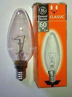 Ampoule Flamme claire EDISON E14 60W PHILIPS GIRARD SUDRON CROZE NEUVE