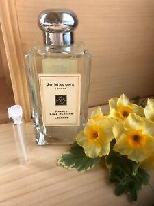 SAMPLE Jo Malone London FRENCH LIME BLOSSOM -2 ml.  None Spray Bottle