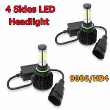 4Sides 9006 LED Headlights Conversion Kit 48000LM 6000K High Power Car Lights 2x
