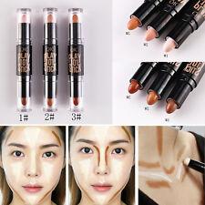Women Makeup Cream Face Eye Foundation Concealer Highlight and Contour Pen Stick