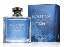 Nautica Voyage N-83 Men 3.4 oz 100 ml Eau De Toilette Spray Box Sealed