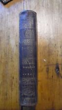 1822 MEMOIRS OF THE MILITARY AND POLITICAL LIFE OF NAPOLEON BONAPARTE 1st Ed