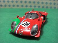 "ALFA ROMEO 33/2 LM coupè 2000. coda lunga "" Le Mans 1969 ""  - 1/43 Best 9284"
