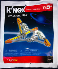 Knex Space Shuttle Building Set 17 Pieces #89906 RARE New