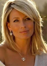 Nature Straight Hairstyle Medium Blonde Women Synthetic Wigs