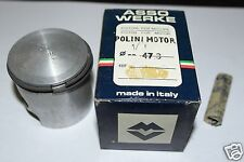 Z 4184 Asso Pistone per Cilindro Polini Minarelli V1 V 1 Diametro 47,8 mm