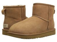Women UGG Classic Mini II Boot 1016222 Chestnut Twinface 100%Authentic Brand New