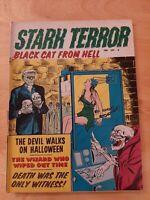 STARK TERROR VOL 1 #2 BONDAGE COVER 1971 HORROR MAGAZINE