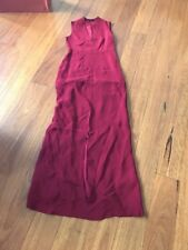 Raoul Designer Silk Gown Size 10 (rrp US$655)