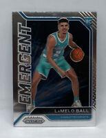 2020-21 LAMELO BALL Panini Prizm Emergent Insert RC #23 Charlotte Hornets Rookie