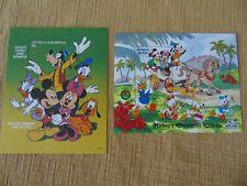 Antigua Barbuda Disney sheet Stamp Mystic Co.Mickey Christmas Goofy Donald